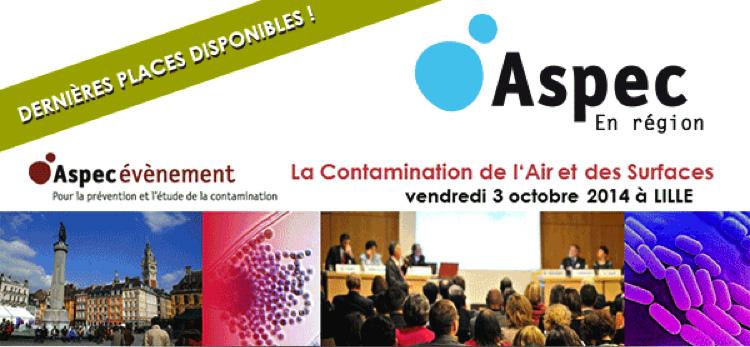 Hygiene & Expertise colloque Aspec à Lille