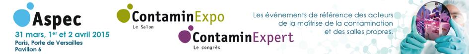 HeX au congrès ContaminExpert 2015
